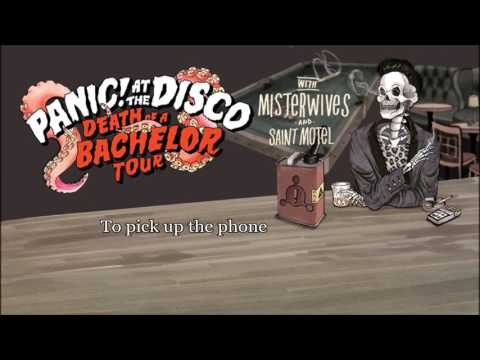 Panic! At The Disco  Unreleased Sg from Too Weird To , Too Rare To Die Full Lyrics