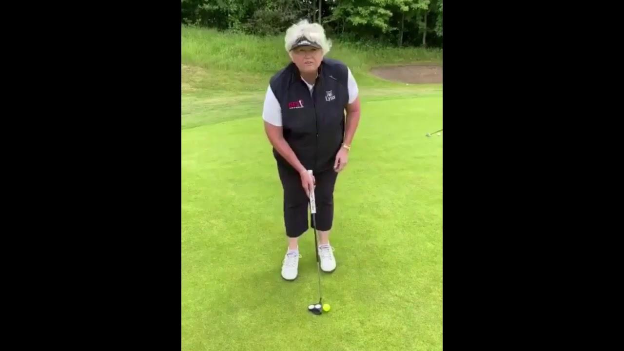 Laura Davies - Putting Tip
