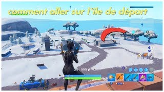 GLITCH FORTNITE HOW ALLER ON The Island of Departure
