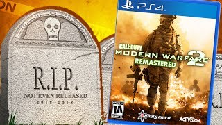 MW2 REMASTERED IS REAL... BUT THEY STILL RUINED IT