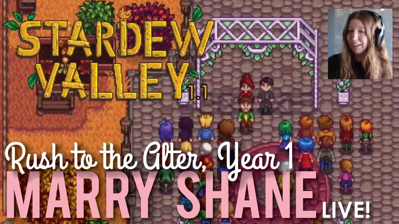 Marrying Shane in Stardew Valley - LIVE! by FoodFluent by RedLace