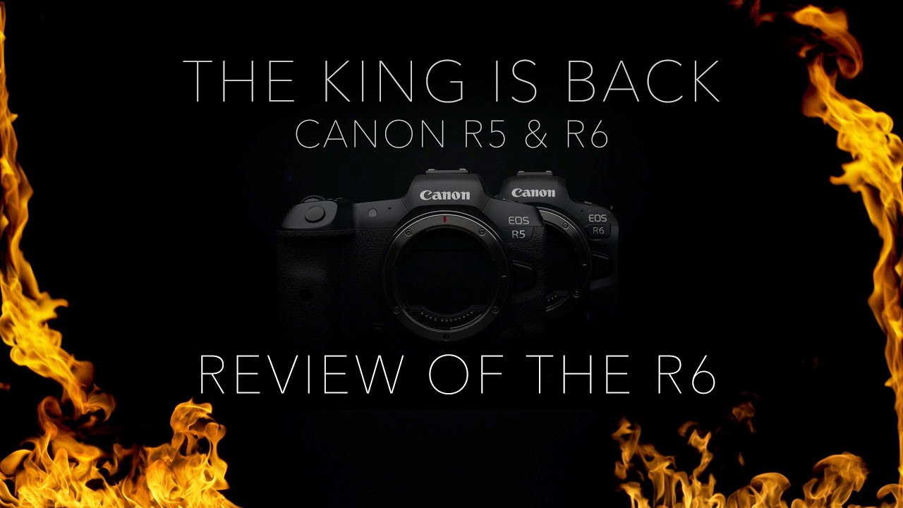 Canon R6 Full Review Animal eye AF, ISO, Overheating & more + Canon R5 Hands On