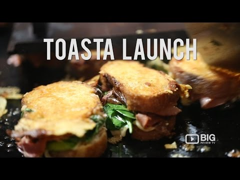 Events  TOASTA Launch  FOODPORN  Cheese Toastie  Big Review TV