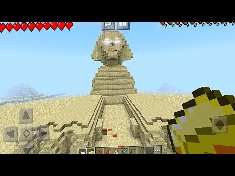 The BEST Seed Ever - Sphinx Seed in Minecraft Pocket Edition