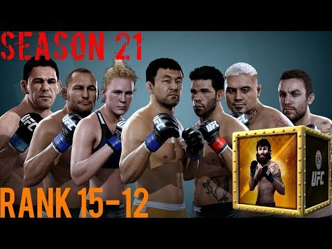 EA SPORTS UFC Mobile - H2H Season 21 Rank 15 - 12 Reward Opening!
