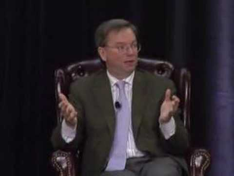 Eric Schmidt at SIEPR Economic Summit 2006