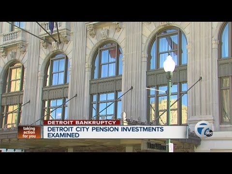 Detroit city pension investments examined