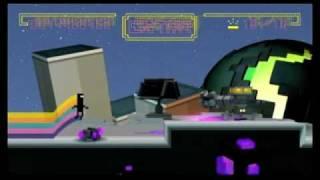 Bit.Trip Runner Wii Gameplay Levels 1-4, 1-6 & 1-10