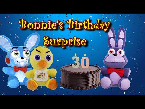 "Freddy Fazbear And Friends ""Bonnie's Birthday Surprise"""