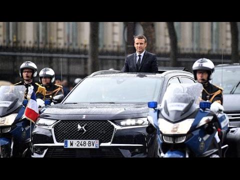 DS 7 Crossback voiture Présidentiel Emmanuel Macron