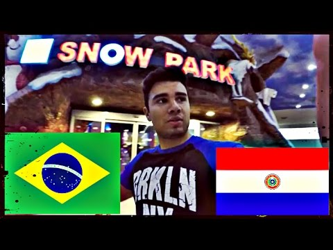 Vivendo no PARAGUAY | Centro, Shopping Paris (Maior Shopping do Paraguai)