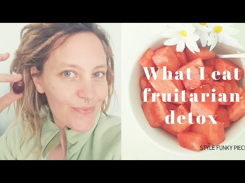 """What I Eat in A Day"" FRUITARIAN DIET DETOX! - Dr. Morse Style"