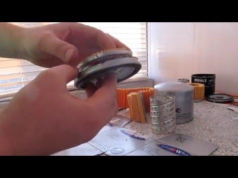 Обратный клапан масляного фильтра