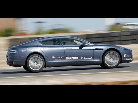 Aston Martin 24 Hour Road Test  Part 2  Peter Egan's Morning Run