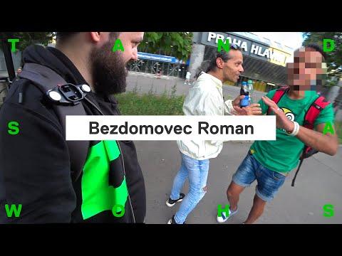 Takto žijí bezdomovci v Praze: žebrání, drogy, dluhy, vztahy… (IRL dokument s bezdomovcem Romanem)