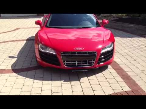 Audi Plate Frame >> Show and Go - Hidden Electronic front License plate holder - YouTube