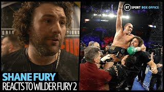 """I would die for Tyson!"" Shane Fury heartfelt interview on brother's win over Wilder"