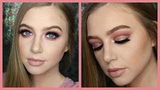 Pink Cut Crease | Valentine's Day Makeup Collab With Liz Renay
