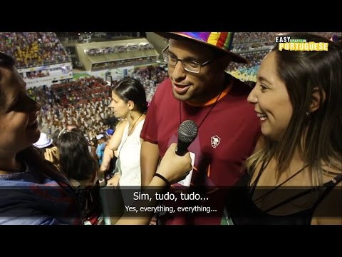 Easy Brazilian Portuguese 11 - Carnival