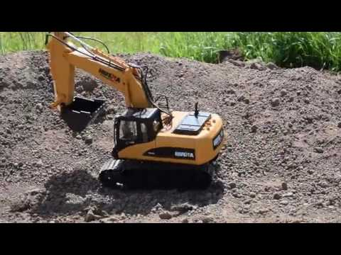 Hugine Multifunction Professional Construction Vehicle, A REAL mini excavator!