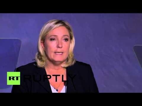 """Belgium: European elites accept refugees """"to collapse our states"""" - Le Pen"""