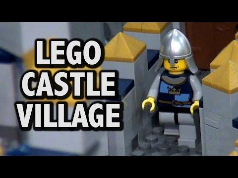 Gigantic LEGO Medieval Castle Village | Brickworld Chicago 2016