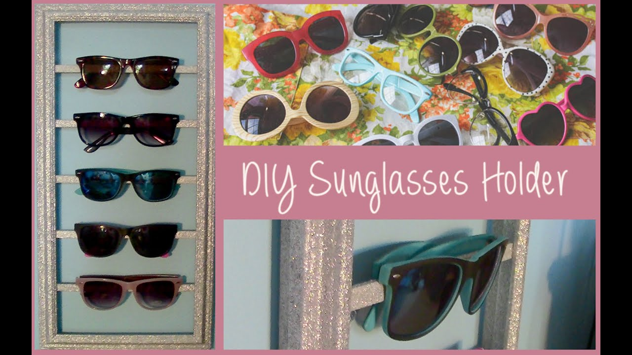 Bon DIY Sunglasses Storage Organizer (Summer Room Decor)   YouTube