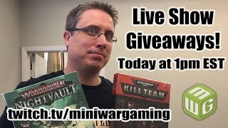 The Future of MiniWarGaming with Matthew (And Giveaways!)