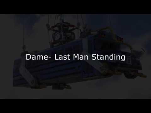 Dame - Last Man Standing LYRICS German [Fortnite Song]