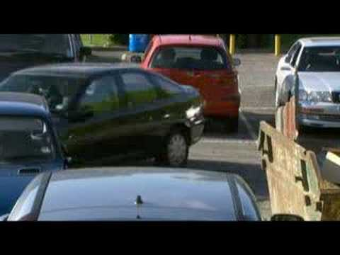 Man parking
