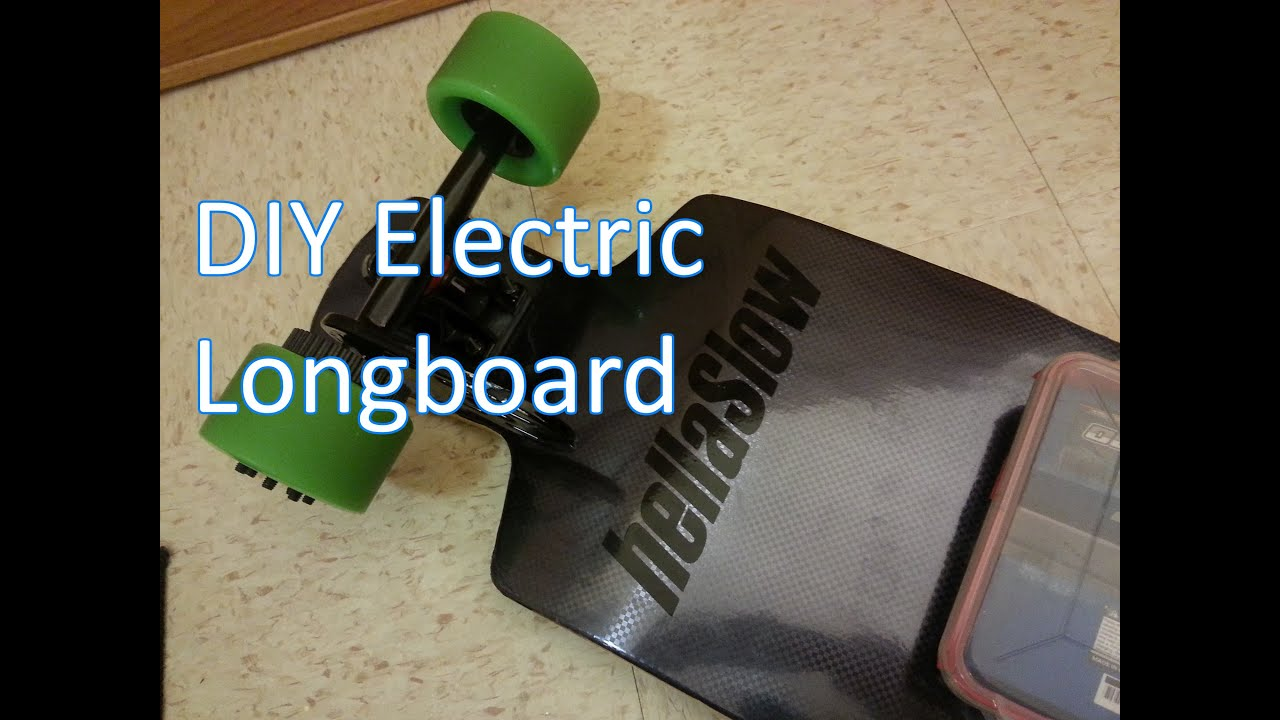 Diy Electric Longboard Overview And Parts List For Cheap Youtube