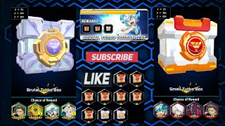 Gambar cover Open Small Turbo Box and Brutal Turbo Box | Beybladeburst Rivals App
