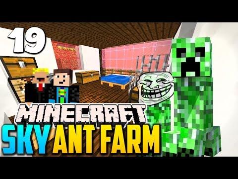 Auf nach Hause - Minecraft SKY ANT FARM #19