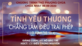HTTL PHƯỚC BÌNH - Chương trình thờ phượng Chúa - 06/09/2020