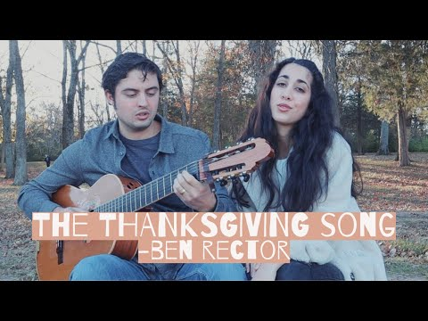 THE THANKSGIVING SONG | Husband and Wife Cover