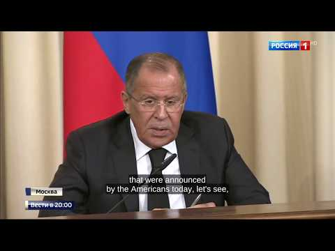 Lavrov: US visa cut is attempt to cause dissatisfaction of Russians with actions of Russian gov