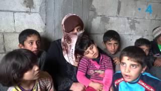 13 عائلة ناجية من مجزرة الحصوية: أطفال ونساء يعيشون في العراء .. بلا أزواج ولا آباء