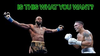 """BFTB BOXING 210 **WILDER VS USYK** """"DON'T TALK ABOUT IT... BE ABOUT IT!"""""""