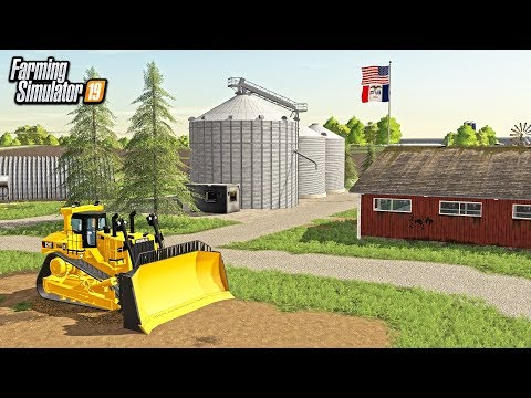 BUILDING A FARM FROM SCRATCH WITH BULLDOZER! (ROLEPLAY) | FARMING SIMULATOR 2019
