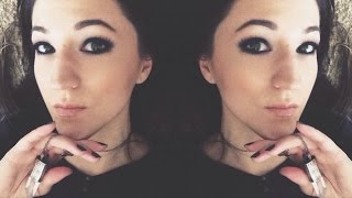 Super Black Smokey Eye - FULL FACE Makeup Talk-Through Thumbnail