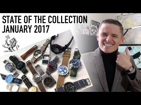State Of The Watch Collection - January 2017 - Casio, Rolex, Tissot, Sinn, Tudor, Seiko, & More