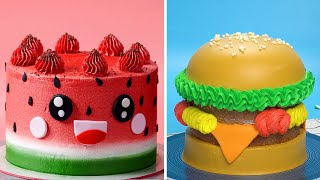 Best Watermelon Cake Recipe | Awesome Homemade Cake Decorating Tutorials For Everyone