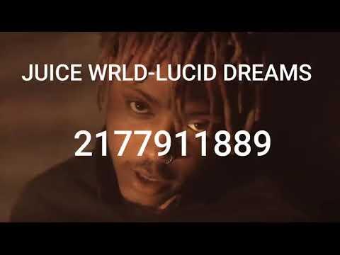 Juice Wrld Lucid Dreams Roblox Id Youtube