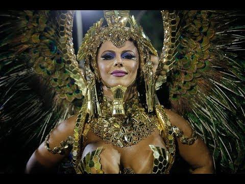 Viviane Araújo desfile Salgueiro Carnaval 2018