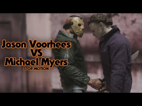 Jason Voorhees vs Michael Myers Stop Motion