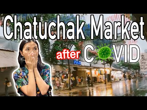 WORLD'S LARGEST MARKET after COVID | Scenes from Chatuchak M