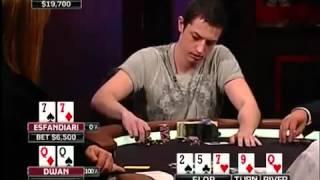 Tom Dwan vs Antonio Esfandiari - Epic Hand