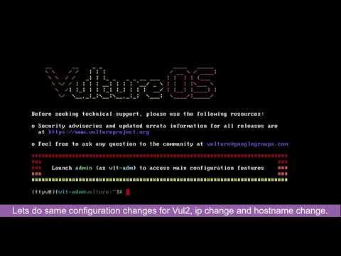 Install Vulture WAF Cluster in VMWare Workstation