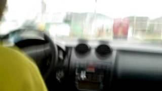 test drive Hyundai Tuscani.