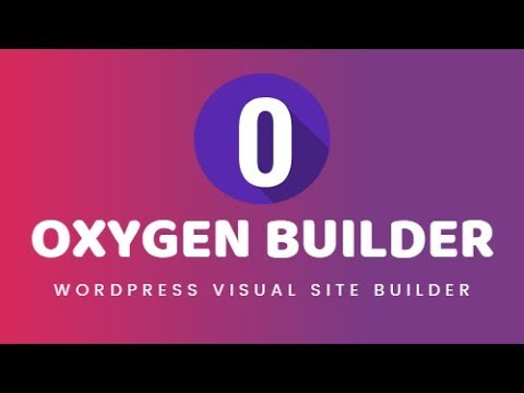 Oxygen theme wordpress